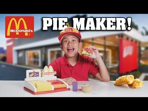 McDonald's PIE MAKER!!! Turn Bread into Apple Pie!