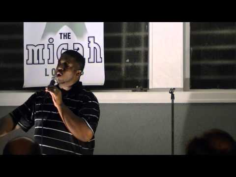 "Jelani Greenidge, stand-up comedy: ""Unflappable confidence"""