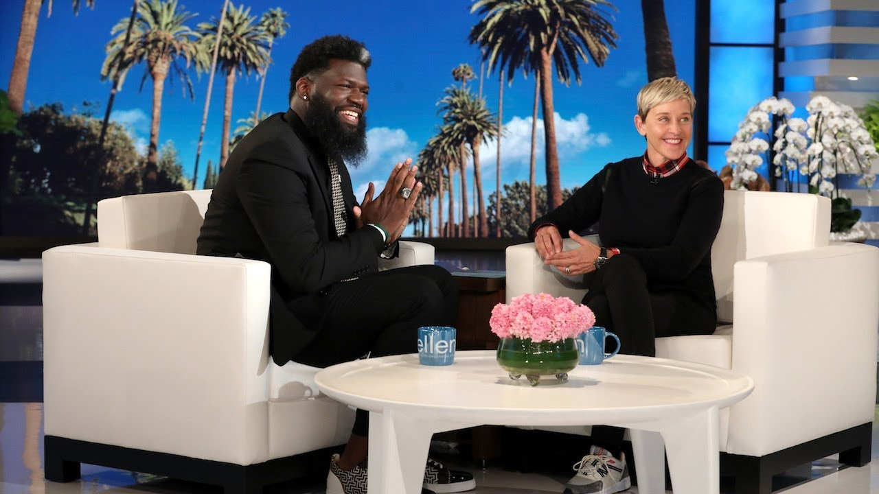 Newark NJ Principal gets $50k  from Ellen to help with his  initiative to stop bullying