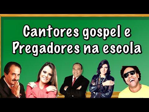 Cantores gospel e pregadores na Escola