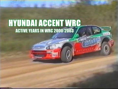 Hyundai Accent Wrc Youtube