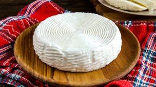 Всего 2 ИНГРЕДИЕНТА и соль готовлю САМЫЙ ПРОСТОЙ домашний СЫР из молока Адыгейский сыр