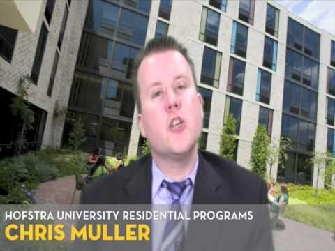 Live Chat: Hofstra University Residential Programs