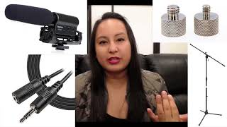 How To Set Up Takstar SGC 598 Boom Microphone - Step by Step Tutorial!