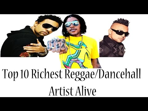 Top 10 Richest Reggae/Dancehall Artist Alive! July 2015