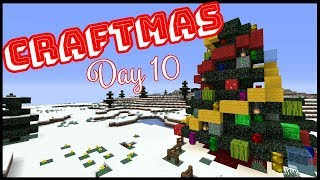 CRAFTMAS DAY 10! - Building A Christmas Tree!