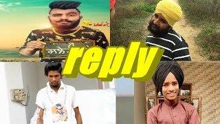 Mukh Mantri De Fans Na Kite Reply Harman Cheema Nu  Dhamak Bass Naal !  2019