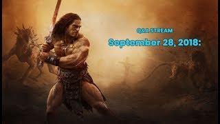 Conan Exiles Q&A Stream with Oscar and Jens Erik