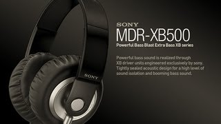 sony mdr xb500 review the best headphones for heavy bass music