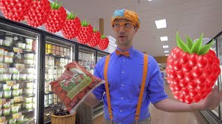 One of Blippi's most recent videos: