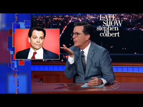 Stephen Helps 'The Mooch' Scaramucci Find 'The Leaks'