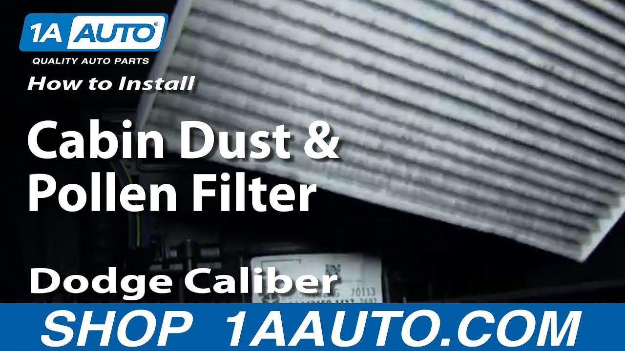 how to install replace cabin dust and pollen filter 2007. Black Bedroom Furniture Sets. Home Design Ideas