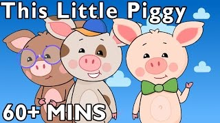 This Little Piggy and More | Nursery Rhymes from Mother Goose Club! thumbnail