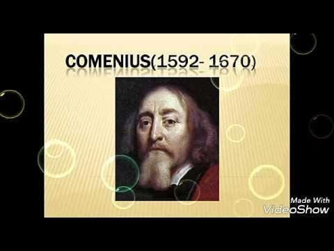 Comenius Pionero De La Pedagogía 2GV5