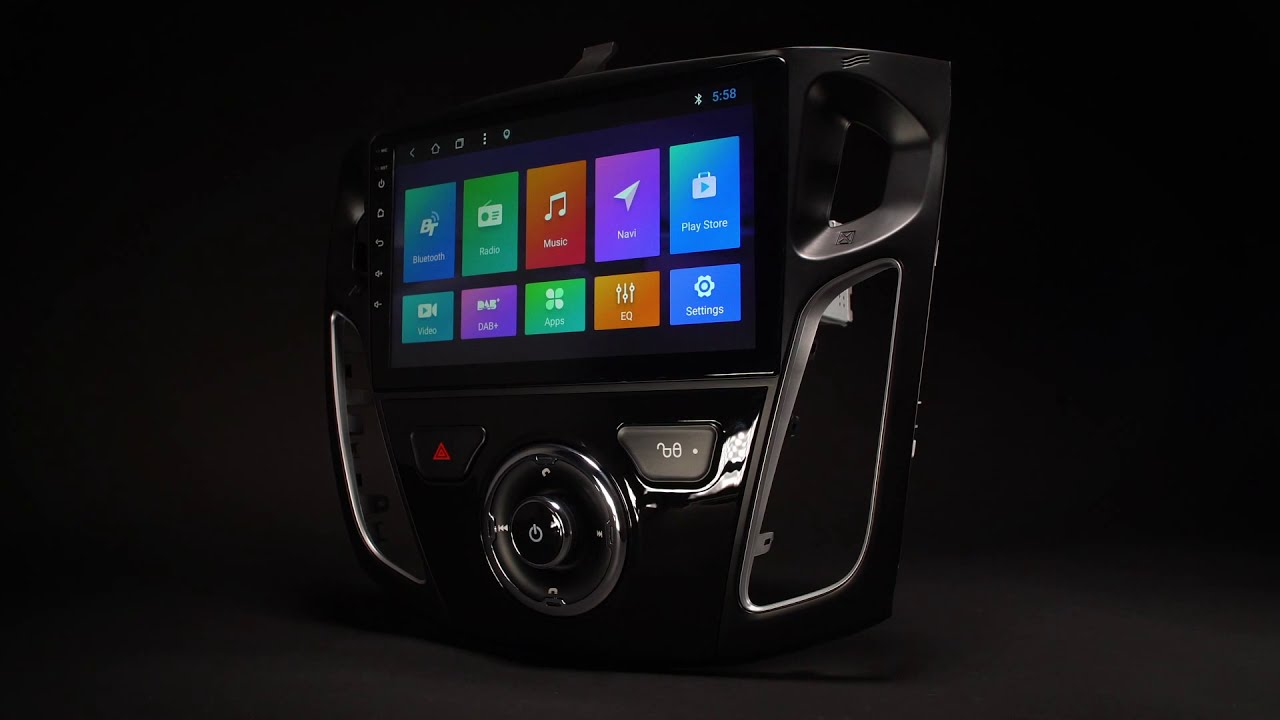 Ford Focus III - Android 8 1 Car Stereo (PR98FSFL)