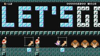 ♥Let's GO ネコピーチ de GO!SpeedRun!♥ by ゆきぃ(ゆっきぃ♪) - Super Mario Maker - No Commentary