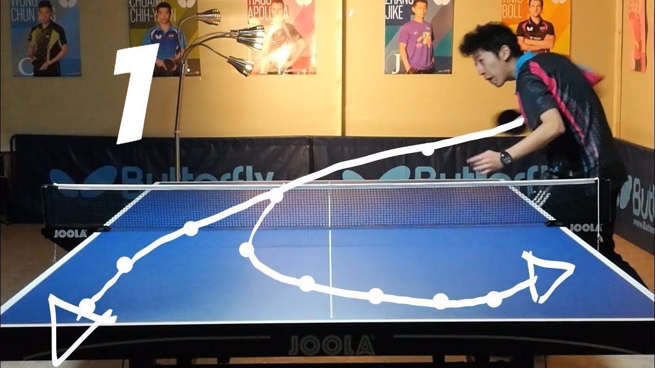 Best Table Tennis Serves Tutorial (pt 1 Backspin, Hook