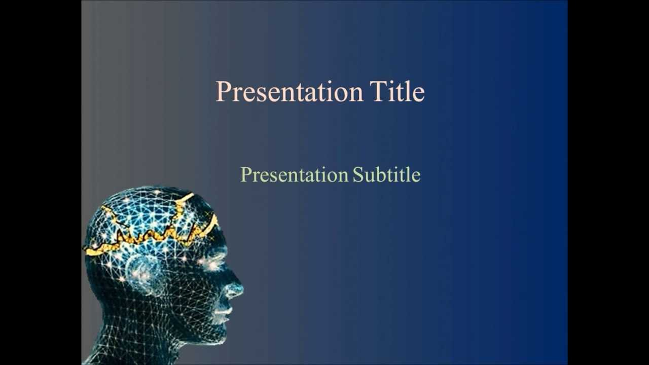 Animated neurology powerpoint template seizures youtube animated neurology powerpoint template seizures toneelgroepblik Image collections