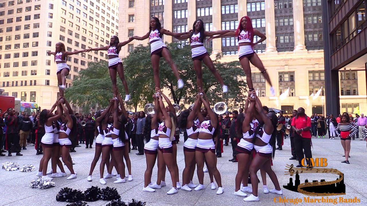 Clark Atlanta University Application >> Clark Atlanta University Cheerleaders 2017