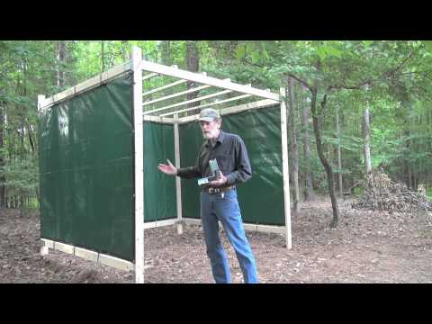The Sukkah Project™- Wood Frame Sukkah Kit