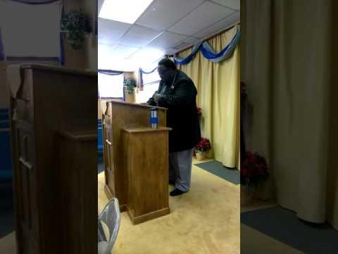 Pastor Nathaniel Parker