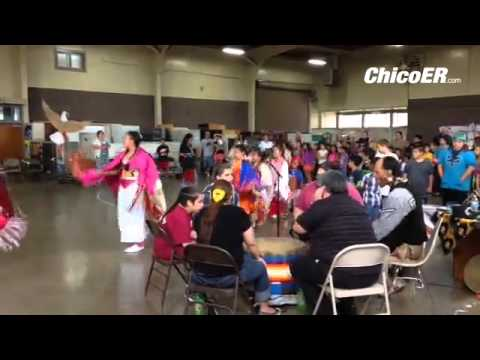 Four Winds School students dance to celebrate American Indian Day on Sept. 26.