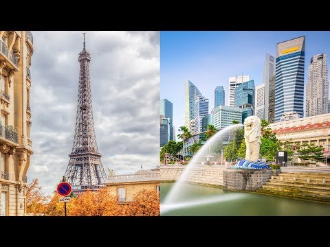 Paris, Singapore are Among the World's Most Expensive Cities