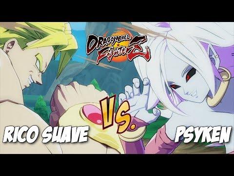 Rico Suave(SSJ Goku/Broly/SSJ Vegeta) Fights Psyken(Android 21/Broly/SSJ Vegeta)![DBFZ]