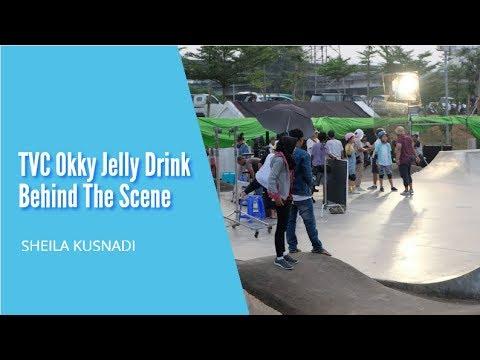 TVC Okky Jelly Drink - Behind The Scene | Sheila Kusnadi
