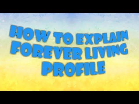 FOREVER का प्रोफाइल कैसे बताये।