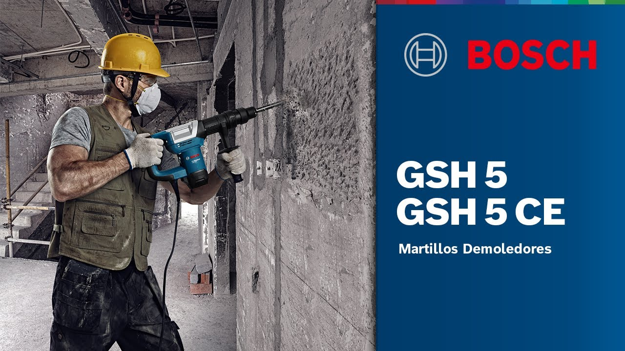 Brandneu Martillo Demoledor GSH 5 Professional/ Martillo Demoledor GSH 5 CE  JQ32
