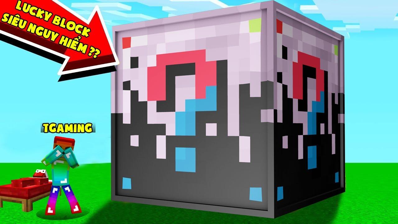 MINI GAME : SUPER FURIOUS LUCKY BLOCK BEDWARS ** THỬ THÁCH T GAMING VỚI LUCKY BLOCK SIÊU NGUY HIỂM ?
