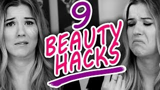 9 Beauty Hacks That Will CHANGE Your LIFE