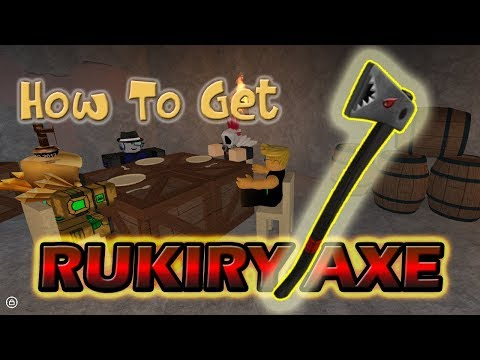 Lumber Tycoon 2 - How To Get - RUKIRY AXE