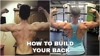 HOW TO BUILD YOUR BACK | BACK WORKOUT ROUTINE |