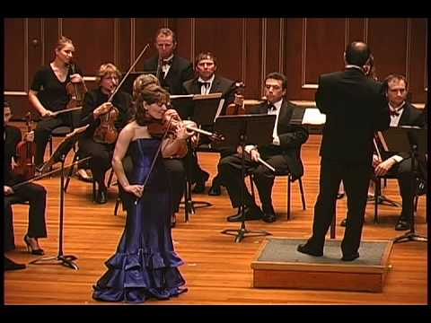Irina Muresanu plays Enescu Romanian Rhapsody No. 1 arranged for violin and strings PART 2