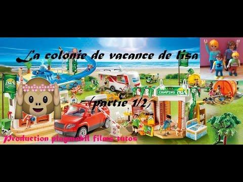 [Film Playmobil n°25]:(partie 1/2): La colonie de vacances de Lisa