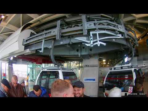 Emirates Air Line Cable Car London Full Round Trip HD