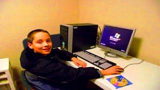 KID RAGES AND THINKS I USE BHOP HACKS | Minecraft PvP Trolling w/ Veroxus
