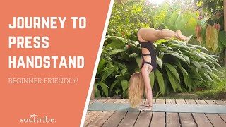How to Train for Press Handstand (beginner friendly)
