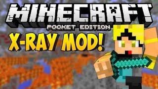 X-RAY MOD PARA MINECRAFT PE 0.14.0 | Mods Para Minecraft PE 0.14.0