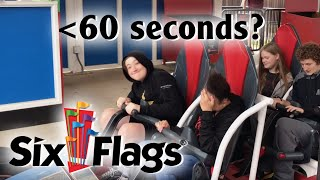 Just How Fast are Six Flags Great America's Operations?