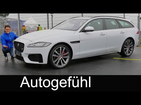 Jaguar XF Sportbrake REVIEW Exterior/Interior estate Kombi new generation 2018 - Autogefühl