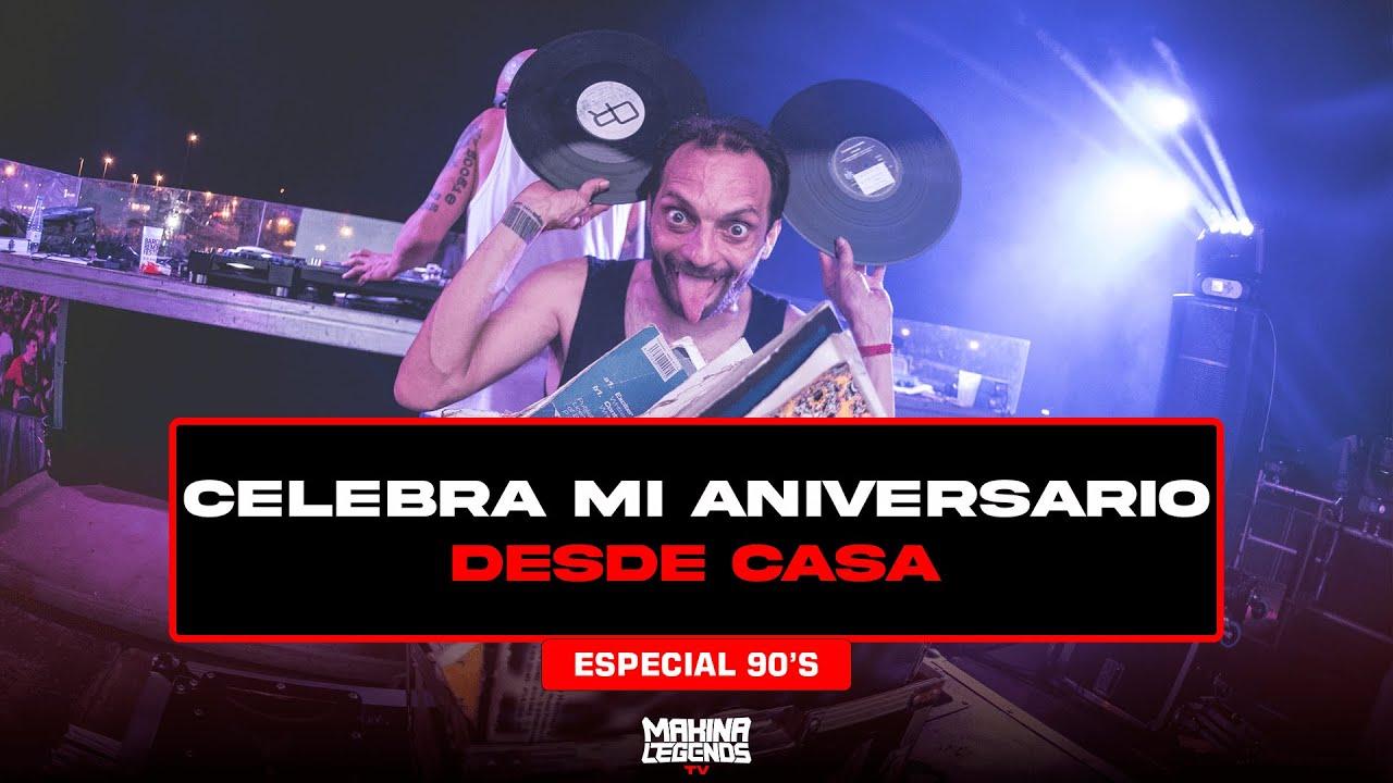 Download DJ PASTIS | Sesión 90's 29 Aniversario | Previa Makina Legends Tv 🔊