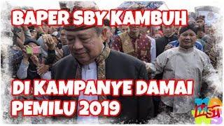Download Video Baperan SBY Kambuh di Kampanye Damai Pemilu 2019 MP3 3GP MP4