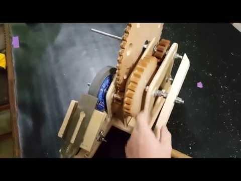 Hand-Powered Grinder Demo 1