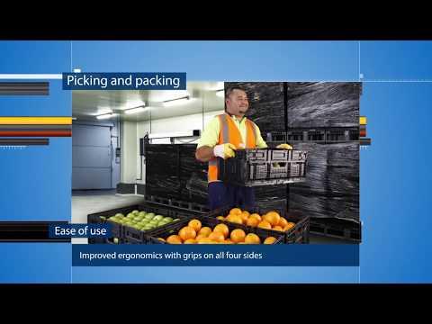 CHEP Australia's Gen 3 Reusable Plastic Containers (RPC)