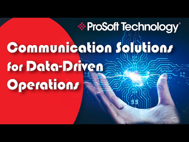 Communication Solutions for Data-Driven Operations