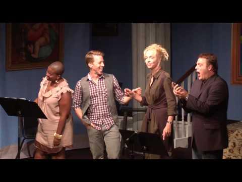 Broadway quartet - Here We Go by Geoffrey Goldberg