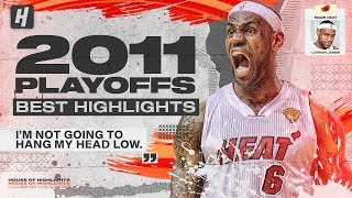 LeBron James BEST Highlights & Plays from 2011 NBA Playoffs + The Finals!